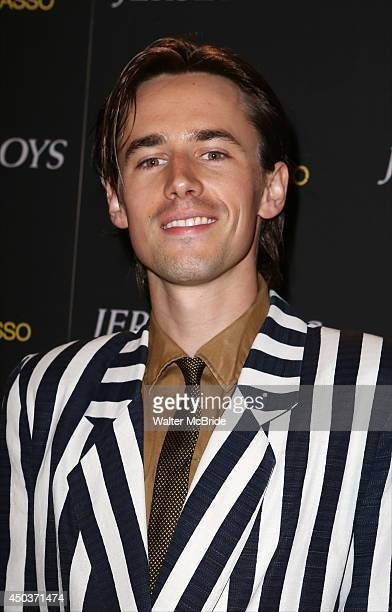 Reeve Carney attends a special New York screening reception for 'Jersey Boys' hosted by Angelo Galasso at Angelo Galasso on June 2014 in New York City