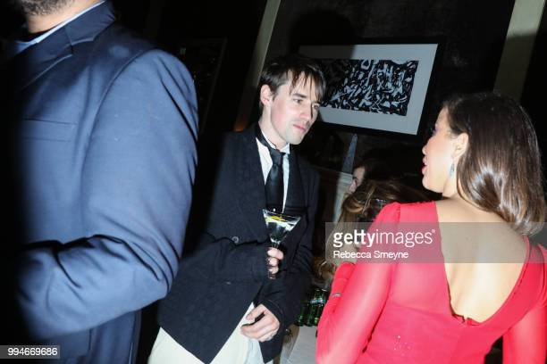 Reeve Carney attends the 10th Annual OM Tony Awards party at the Carlyle on June 10 2018 in New York New York