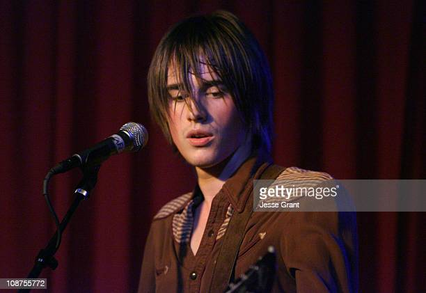 Reeve Carney during ASCAP Presents Quiet on the Set December 4 2006 at Hotel Cafe in Hollywood California United States