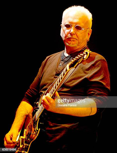 Reeves Gabrels of The Cure performs at Manchester Arena on November 29 2016 in Manchester United Kingdom