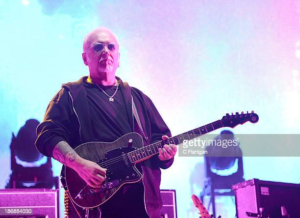 Reeves Gabrels of The Cure performs during the 2013 Voodoo Music + Arts Experience at City Park on November 3, 2013 in New Orleans, Louisiana.