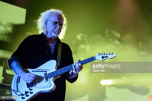 Reeves Gabrels of The Cure performs live at Centre Bell on June 14 2016 in Montreal Canada