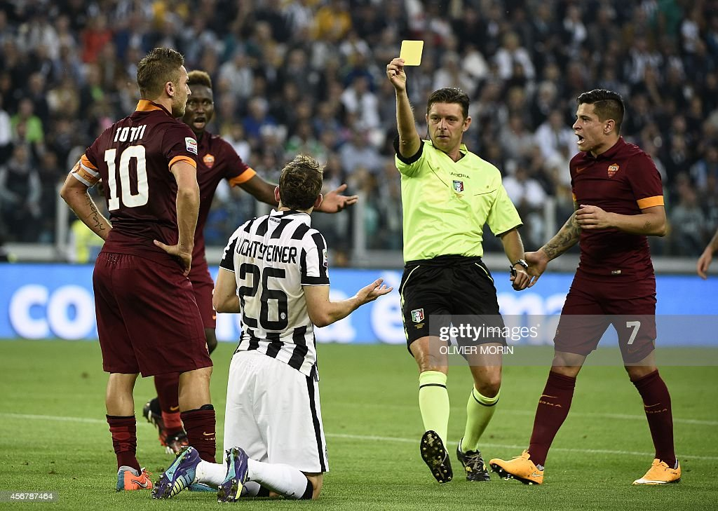 FBL-ITA-SERIEA-JUVENTUS-ROMA : News Photo