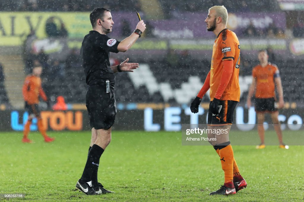 Swansea City v Wolverhampton Wanderers- Emirates FA Cup : News Photo