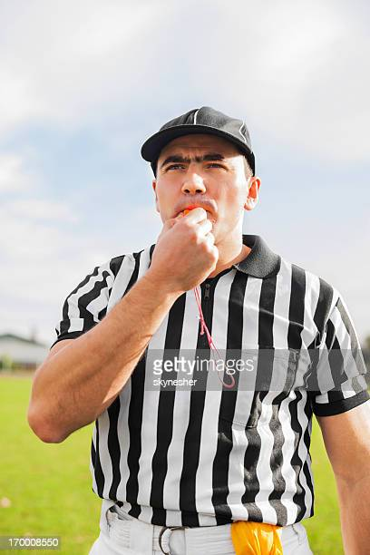 referee against the sky. - referee stock pictures, royalty-free photos & images