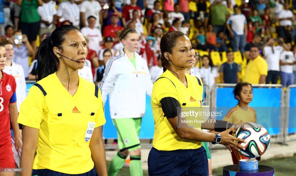 Germany v Canada: Group B - FIFA U-17 Women's World Cup Costa Rica 2014 : News Photo