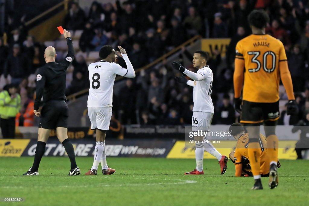 Wolverhampton Wanderers v Swansea City - Emirates FA Cup : News Photo