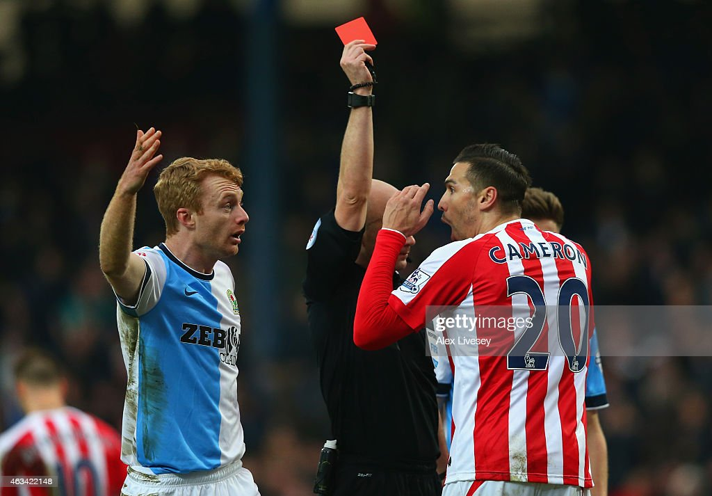 Blackburn Rovers v Stoke City - FA Cup Fifth Round : News Photo