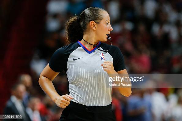 Referee Ashley Moyer Gleich Looks On During The First Half Between News Photo Getty Images