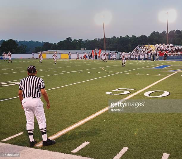 Referee at Kickoff