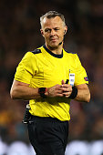 barcelona spain referee bjoern kuipers looks
