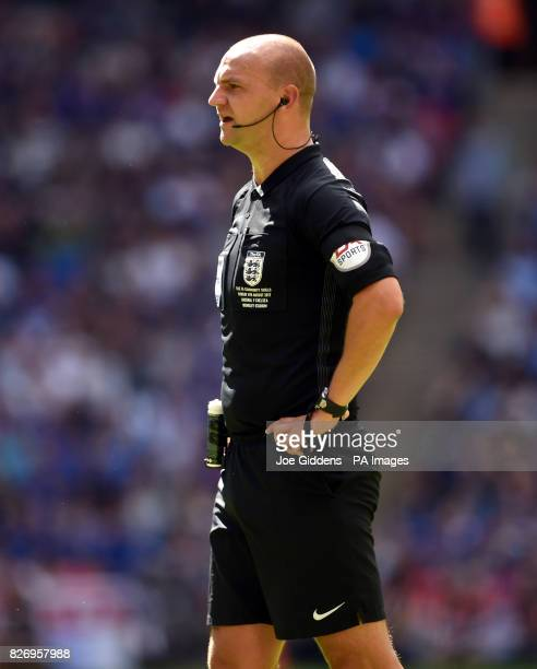 Referee Bobby Madley