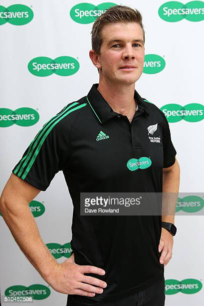 Referee Brendon Bickerill during the 2016 New Zealand Super Rugby Launch on February 16 2016 in Auckland New Zealand