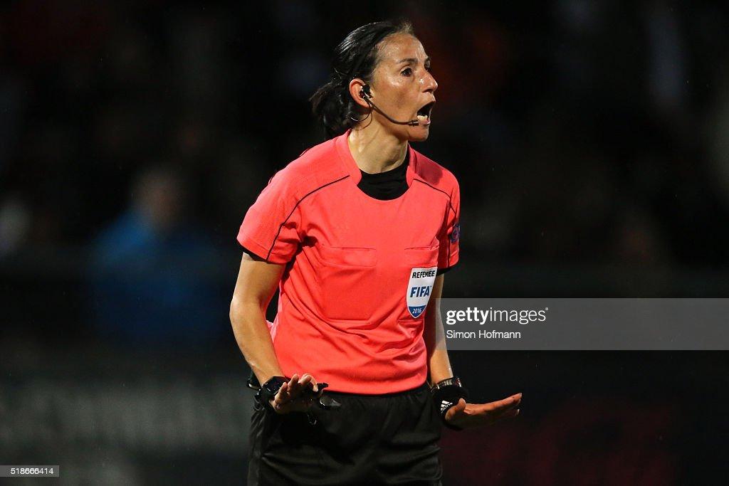 1. FFC Frankfurt v FC Rosengard - UEFA Women's Champions League : News Photo