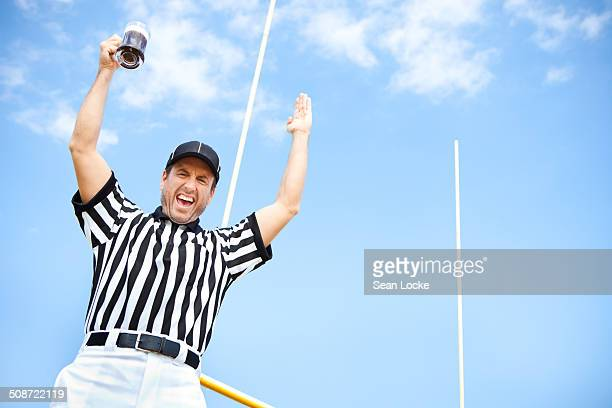 Referee: Cheering with a Cold Beer