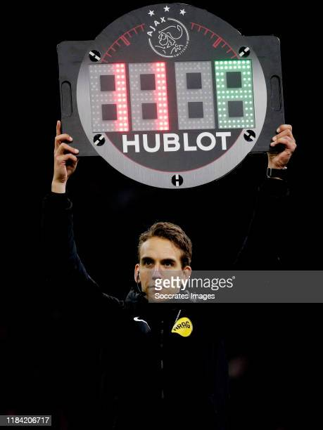 referee Clay Ruperti during the Dutch Eredivisie match between Ajax v Heracles Almelo at the Johan Cruijff Arena on November 23 2019 in Amsterdam...