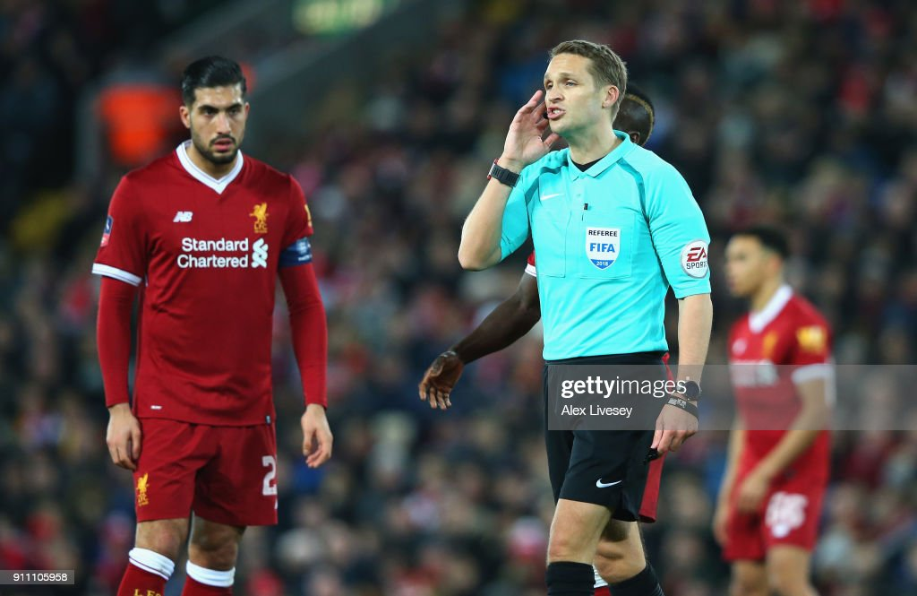 Liverpool v West Bromwich Albion - The Emirates FA Cup Fourth Round : News Photo