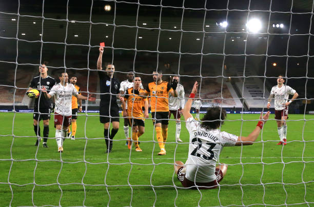 GBR: Wolverhampton Wanderers v Arsenal - Premier League