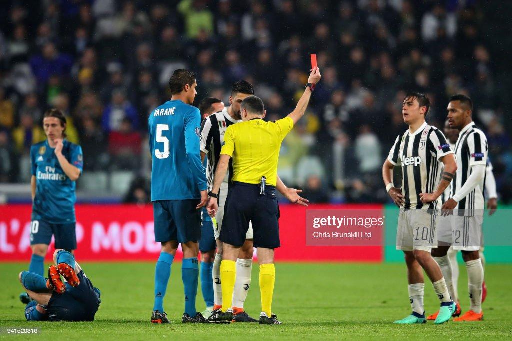 Juventus v Real Madrid - UEFA Champions League Quarter Final 1st Leg : News Photo