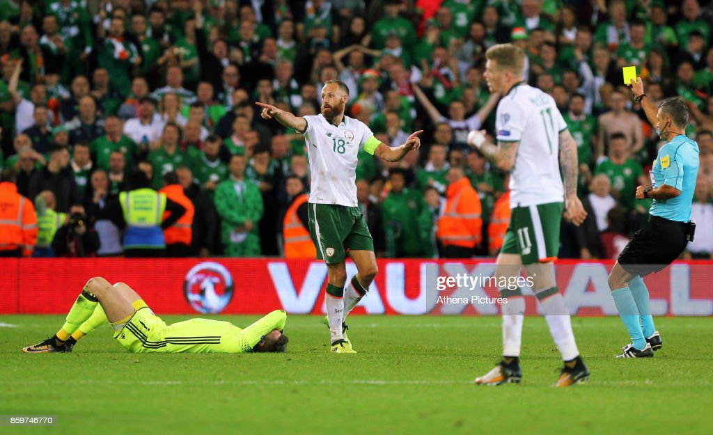 Wales v Republic of Ireland - FIFA 2018 World Cup Qualifier : News Photo