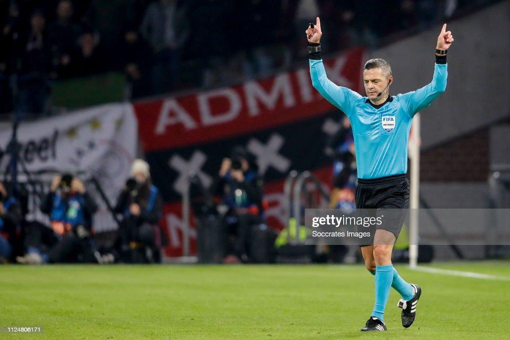 Ajax v Real Madrid - UEFA Champions League : News Photo