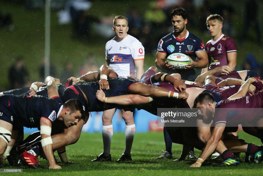 Super Rugby AU Rd 2 - Rebels v Reds : News Photo