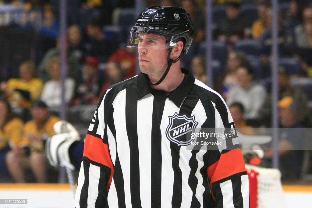 NHL: SEP 25 Preseason - Hurricanes at Predators : News Photo