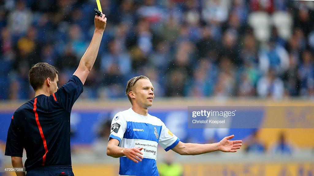 MSV Duisburg v Preussen Muenster  - 3. Liga