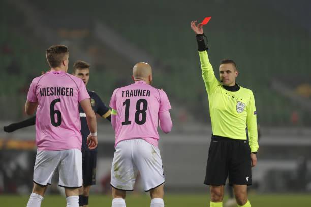 AUT: LASK v Royal Antwerp: Group J - UEFA Europa League
