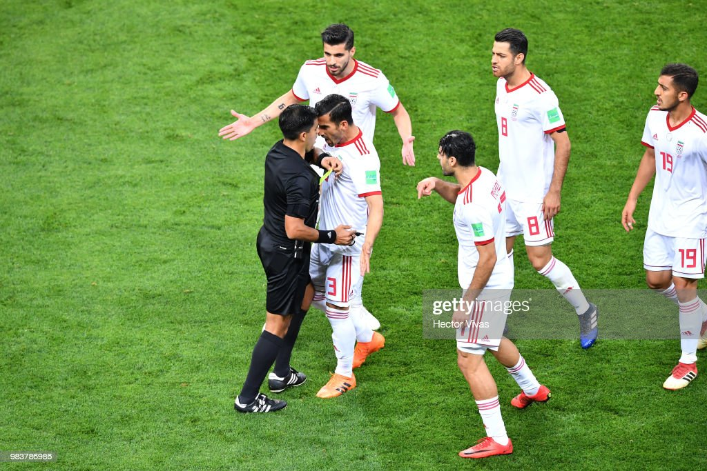 Iran v Portugal: Group B - 2018 FIFA World Cup Russia : Photo d'actualité