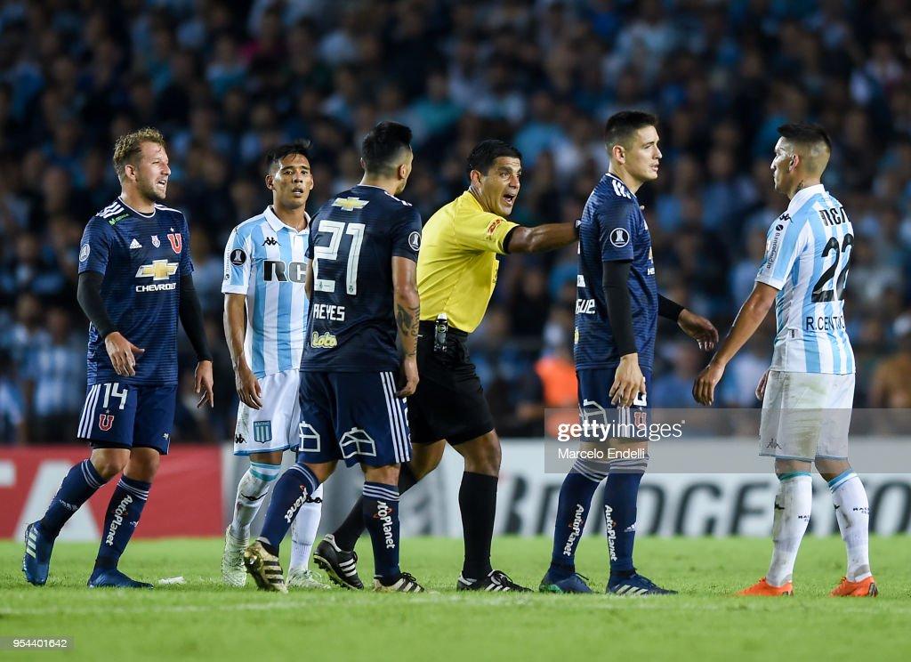 Racing Club v Universidad de Chile - Copa CONMEBOL Libertadores 2018 : News Photo