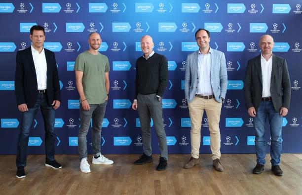 DEU: Press Conference UEFA Champions League At Amazon Prime Video