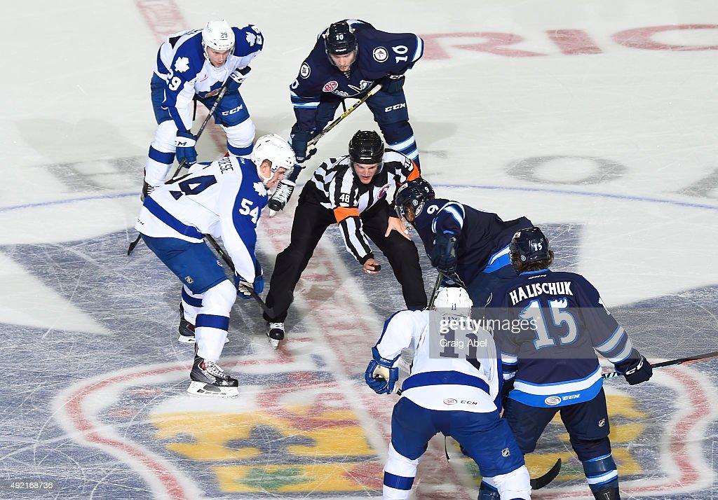 Manitoba Moose v Toronto Marlies : News Photo