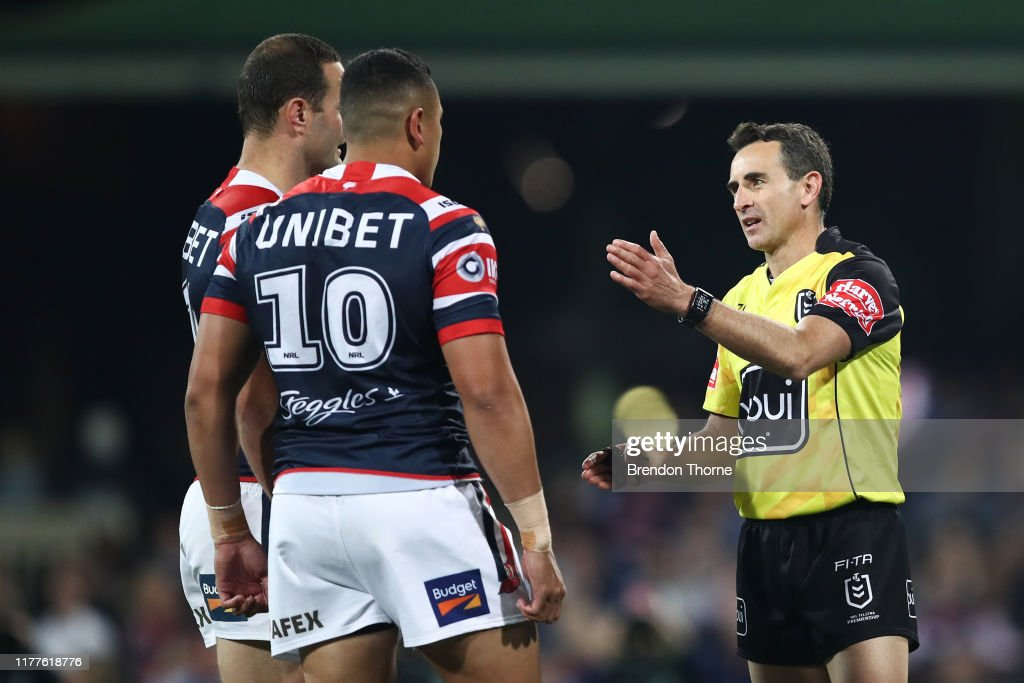 NRL Preliminary Final - Roosters v Storm : News Photo
