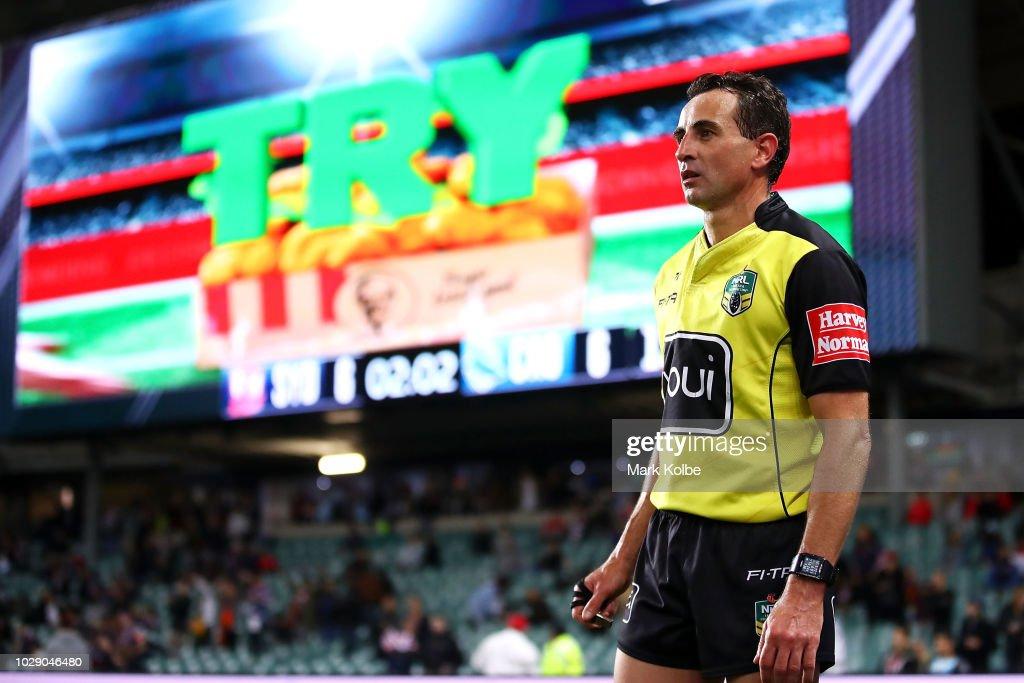 NRL Qualifying Final - Roosters v Sharks : News Photo