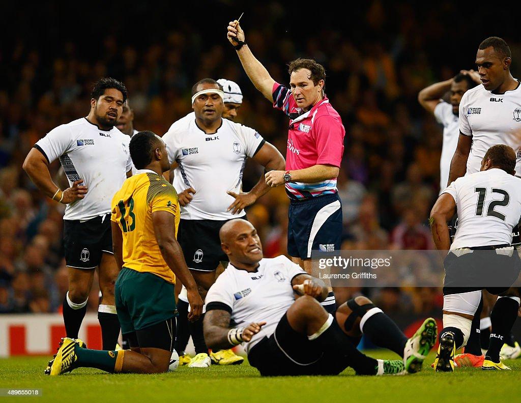 Australia v Fiji - Group A: Rugby World Cup 2015 : News Photo