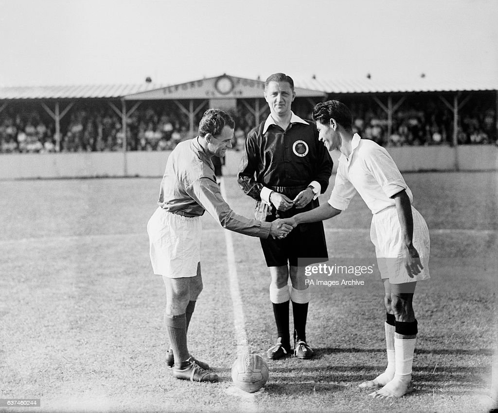 Soccer - London Olympic Games - First Round - India v France - Ilford - Cricklefield Stadium : News Photo