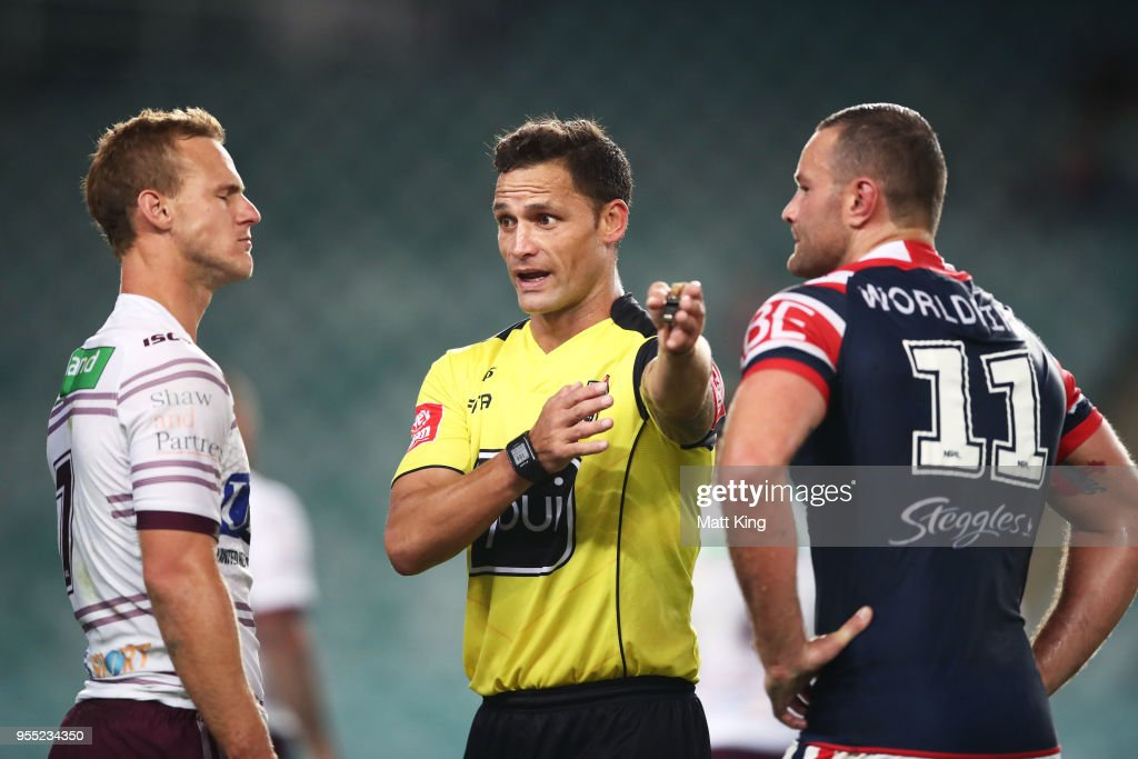 NRL Rd 9 - Roosters v Sea Eagles : News Photo