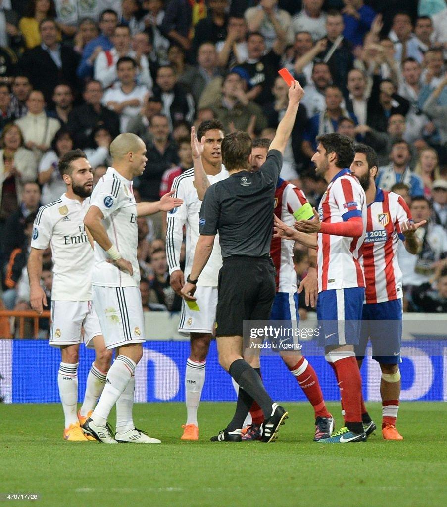 Real Madrid CF v Club Atletico de Madrid - UEFA Champions League Quarter Final: Second Leg : News Photo