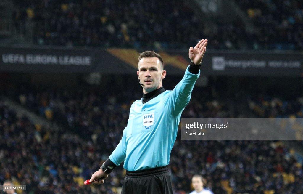Dynamo Kyiv v Olympiacos - UEFA Europa League Round of 32: Second Leg : News Photo