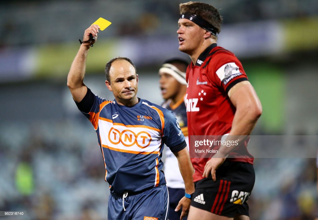 Super Rugby Rd 11 - Brumbies v Crusaders : News Photo