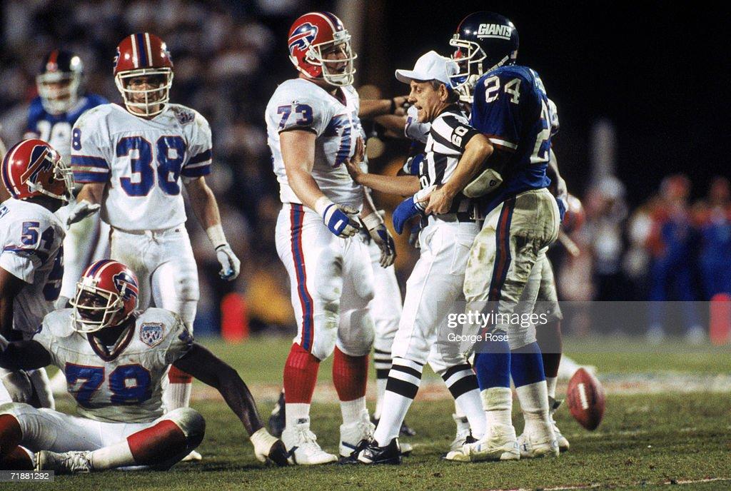 Super Bowl XXV: Buffalo Bills v New York Giants : News Photo