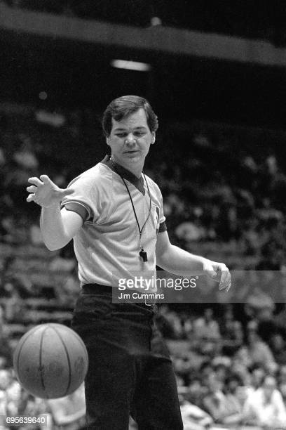 Referee Joey Crawford looks on circa 1980 at the Brendan Byrne Arena in East Rutherford New Jersey NOTE TO USER User expressly acknowledges and...