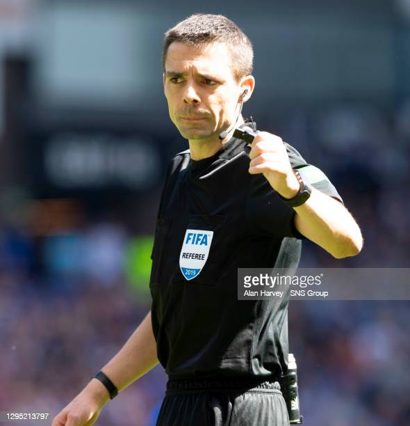 Referee Kevin Clancy