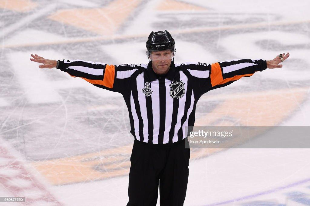 NHL: MAY 29 Stanley Cup Finals Game 1  Predators at Penguins : News Photo