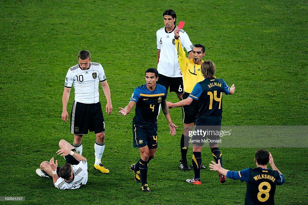 Germany v Australia: Group D - 2010 FIFA World Cup : News Photo