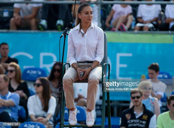 Referee Marijana Veljovic during the 2nd day of Summer Adria Tour, on June 13, 2020 in Belgrade, Serbia.