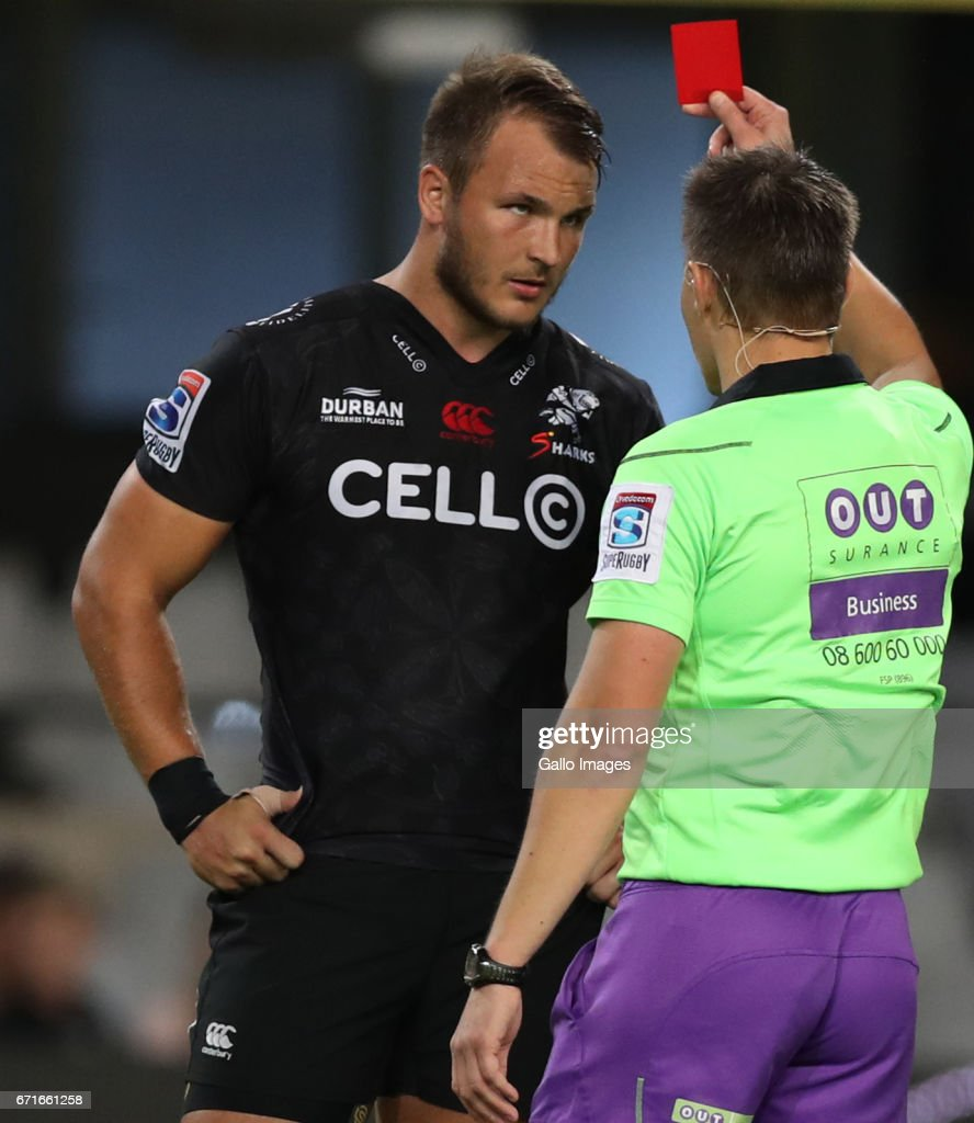 Super Rugby Rd 9 - Sharks v Rebels : News Photo