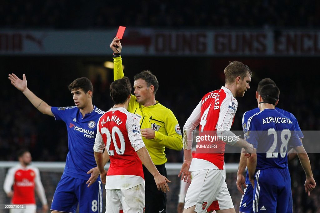 FBL-ENG-PR-ARSENAL-CHELSEA : News Photo