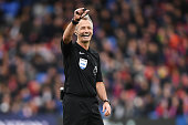 london england referee martin atkinson action